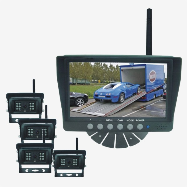 7-inch Digital Wireless Camera System (4 Camera)