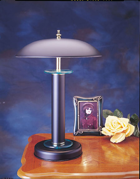 SecureShot Touch Table Lamp Total Covert
