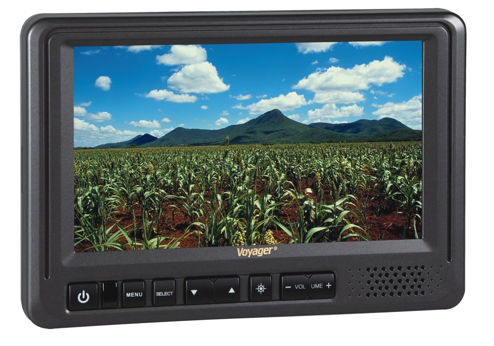 "Voyager 7"" Rear View Monitor with 3 Camera Inputs"