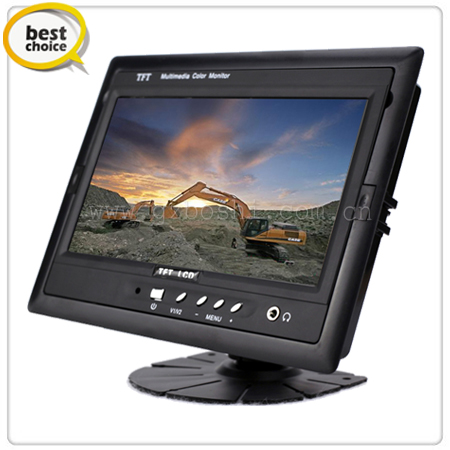 7 inch Car Stand Alone Monitor w/ 3 Video Inputs