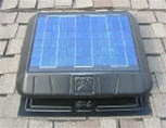 Solar-Powered Attic Fan 20W - Flat Base