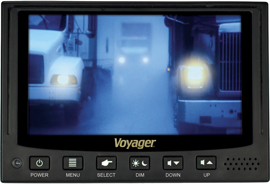 Voyager VOM74WP Heavy Duty QuadView Monitor