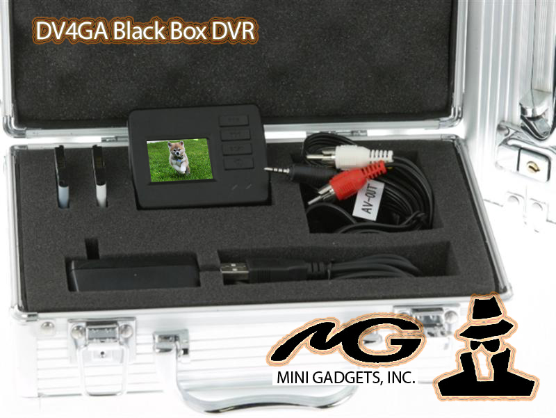 DV4GA World's Smallest DVR with Second Battery