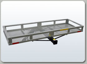 Aluminum Cargo Carrier - Towing Wolf