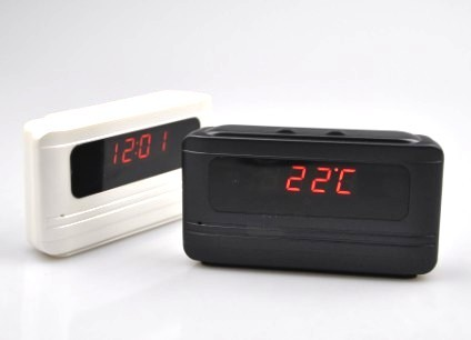 24 Hours Recording Clock Camera DVR with Motion Detect Function